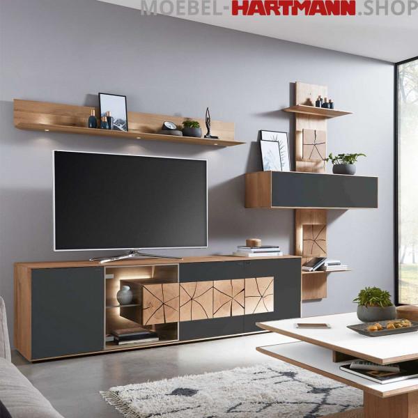 Hartmann Caya - Wohnwand Vorschlagskombination Nr. 60 A