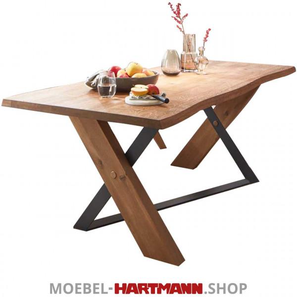 Hartmann Vara - Esstisch mit fester Platte 7210W-1525 und 7210W-1523