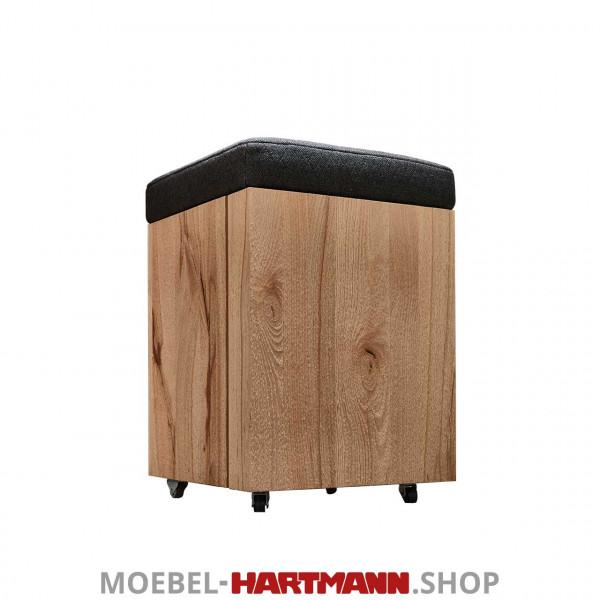 Hartmann Runa - Sitzhocker mit Rollen 8440-3041 Stoff