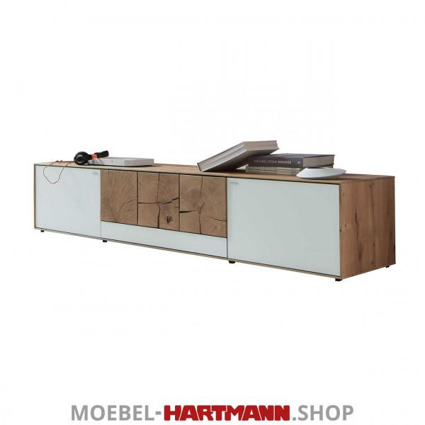 Hartmann Caya - Unterteil inkl. Kabelschacht 7170-2215 W
