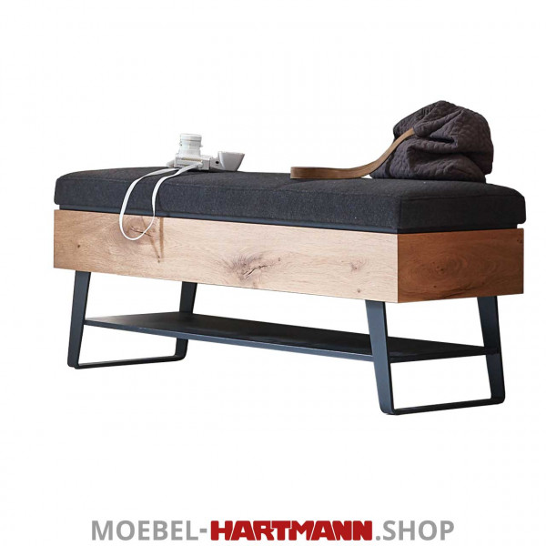 Hartmann Talis - Sitzbank 5540-3121 Stoff (Garderobenserie Talis ...