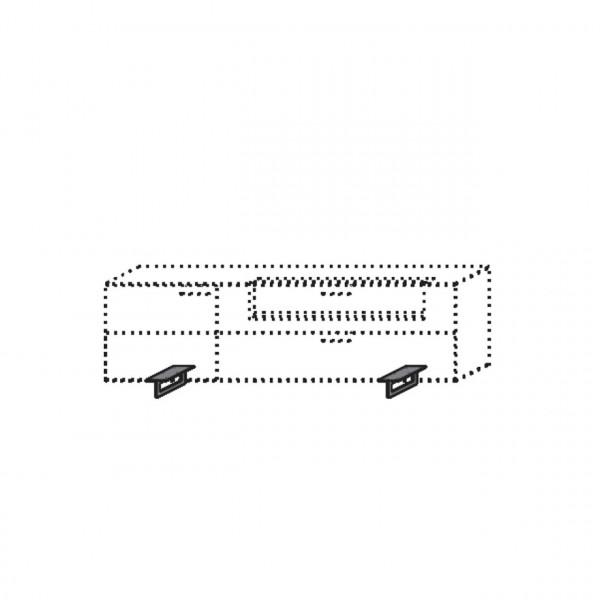 Hartmann Runa - Füße Metall anthrazit 8410-1045