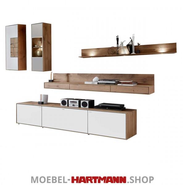 Hartmann Caya - Wohnwand Vorschlagskombination Nr. 26 W