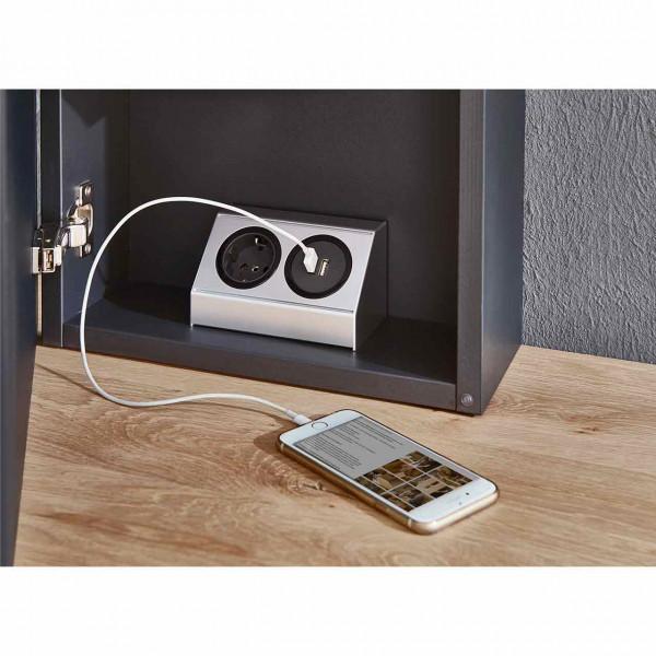 Hartmann Runa - Steckdoseneinheit mit USB-Anschluss 8440-9851