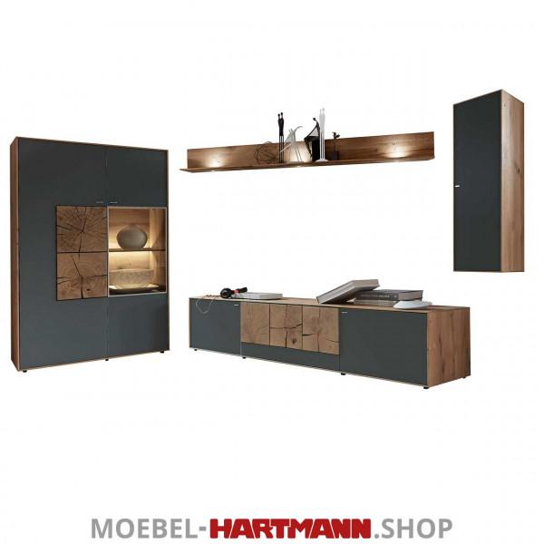 Hartmann Caya - Wohnwand Vorschlagskombination Nr. 34 A
