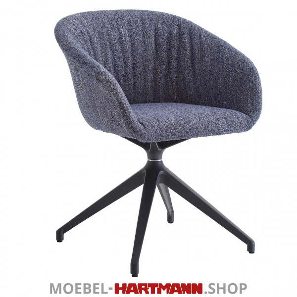 Hartmann Liv Leonardo - Armlehnenstuhl Anni 7120W-1610 Stoff