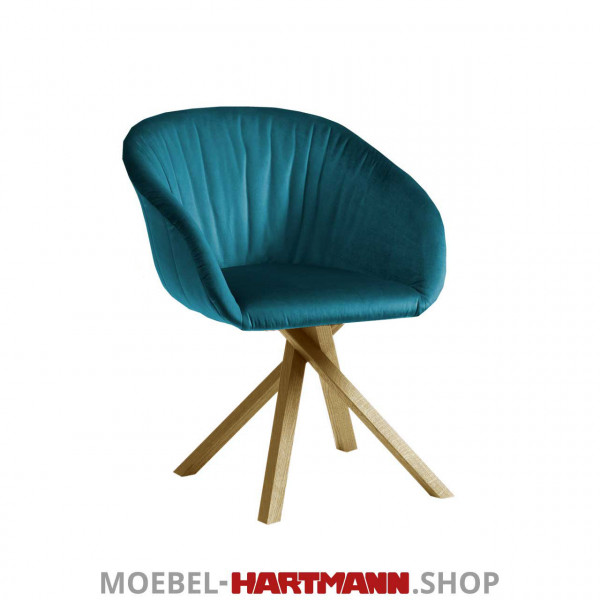 Hartmann Naturzeit - Armlehnstuhl Anni 7100E-0632 Kerneiche Umato