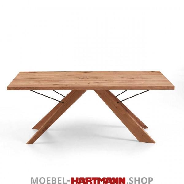 Hartmann Vara - Esstisch mit fester Platte 7210W-0538 und 7210W-0539