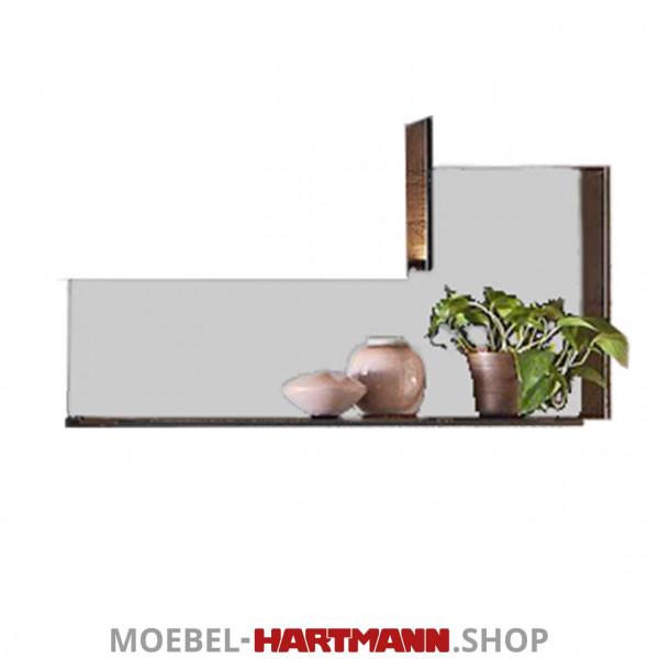 Hartmann Liv Leonardo - Anbauelement Glas für Wandpaneel rechts 7120W-1102G grau