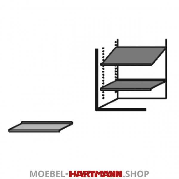 Hartmann Caya - Metalleinlegeboden 7140-1011