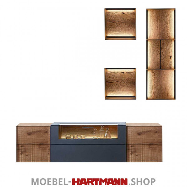 Hartmann Vara - Wohnwand 7210W Nr. 36A