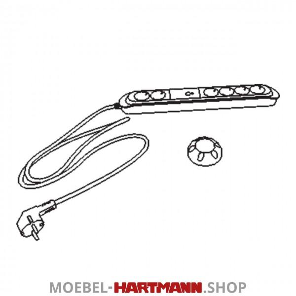 Hartmann Runa Steckdosenleiste für LED-Beleuchtung 8410-0125