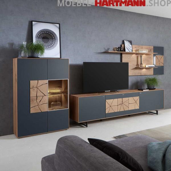 Hartmann Caya - Wohnwand Vorschlagskombination Nr. 64 A