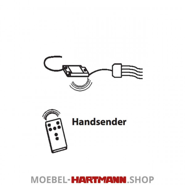 Hartmann Brik - Funkfernbedienung 8480-0118