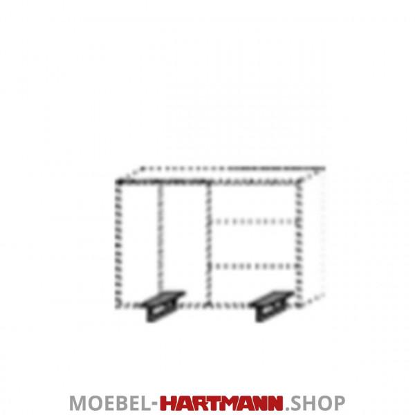 Hartmann Runa - Kufen Metall anthrazit 8440-1047