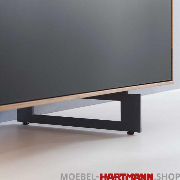 Hartmann Caya - Füße Metall anthrazit 7170-1045