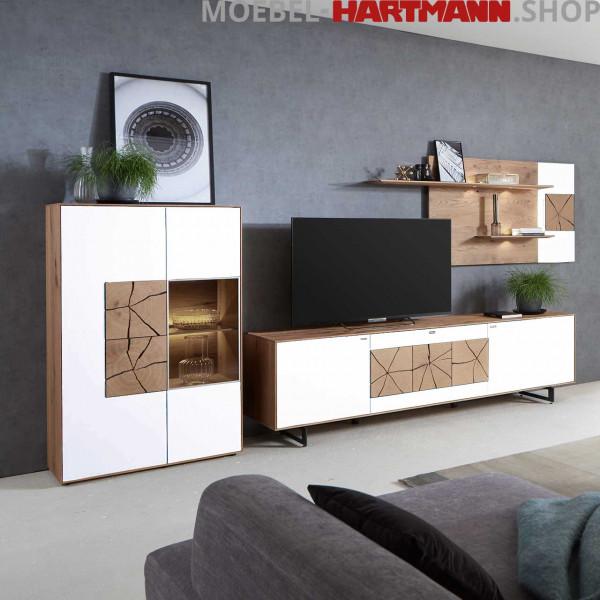 Hartmann Caya - Wohnwand Vorschlagskombination Nr. 64 W