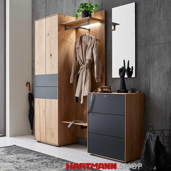 Hartmann Runa Garderobe 8440 Nr. 112 inkl. Beleuchtung sofort verfügbar