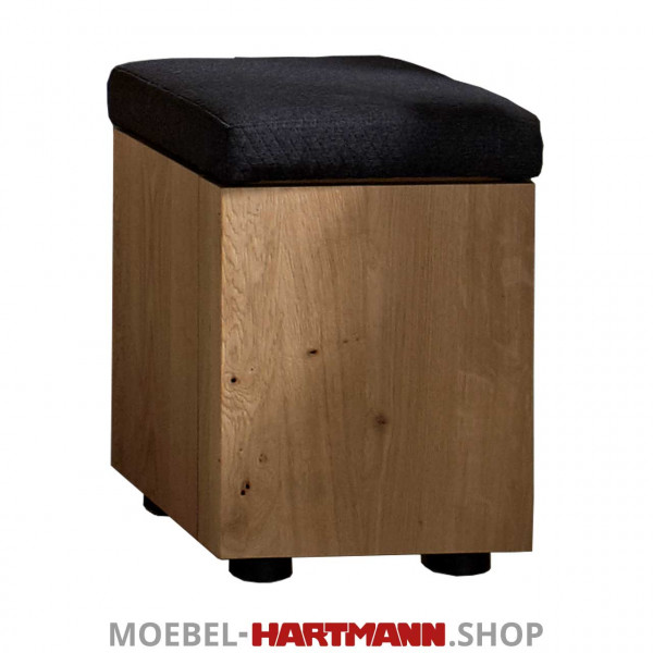 Hartmann Brik - Sitzhocker mit Rollen 3041 Stoff