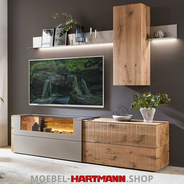 Hartmann Vara - Wohnwand 7210W Nr. 40T