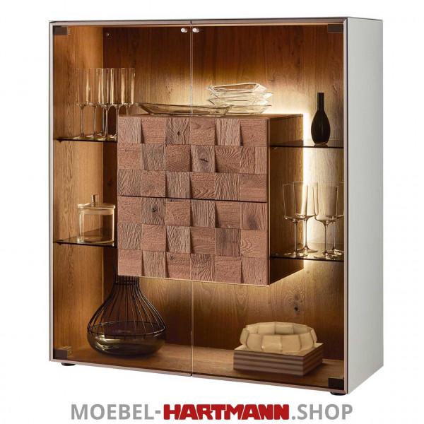 Hartmann Liv Leonardo - Highboard 7120W-6111G grau