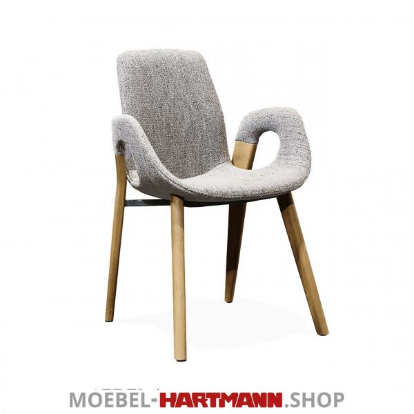 Hartmann Naturzeit - Armlehnstuhl Jasper - 1600-Kerneiche Umato