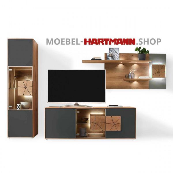 Hartmann Caya Wohnwand Vorschlagskombination Nr 66 A
