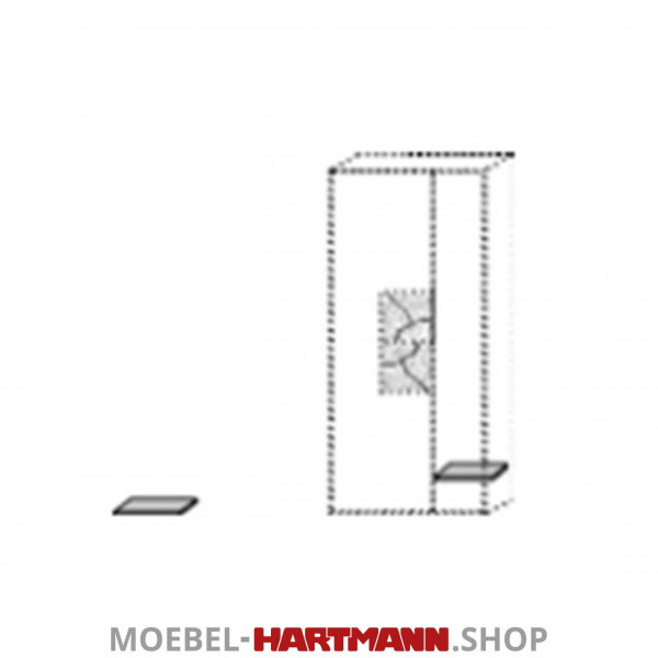 Hartmann Talis - Holzeinlegeboden 5540-1000